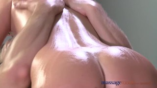 Massage Rooms Flexible blonde enjoys hard cock in her perfect pussy ass tits massagerooms sensual blonde blowjob fingering oral-sex pussy orgasm big-dick female orgasms massage female-friendly
