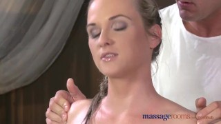 Massage Rooms Flexible blonde enjoys hard cock in her perfect pussy  female orgasms ass tits oral-sex blonde blowjob massage female-friendly sensual pussy massagerooms fingering orgasm big-dick