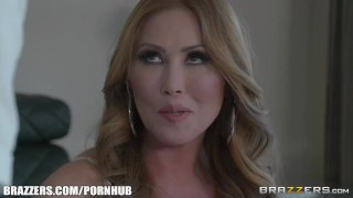 Sexy step mom Kianna Dior - Brazzers Girlfriend shaved