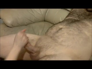 Clothed Female Nude Male Blowjob with Deep Throat