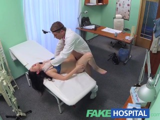 FakeHospital Doctor prescribes his cock to help relieve patients pain
