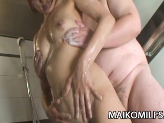 Miki Ando - JAV Milf Fucked And Facialized