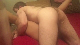 Work me out daddy  pussy pounding missionary pounding hairless pussy