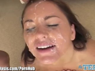MyTeenOasis Blowbanged,Rimming and Facial