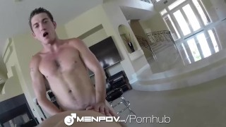 Damien Black rough sex with Billy Ramos Blindfolded oral