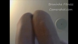 Floor webcam with pussy zoom - pussy close up
