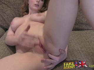 Undress The Pornstar Fakeagentuk Huge Facial For Hot Petite Librarian On Casting Couch