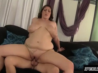 Sexy Blonde Amateur Beautiful plumper Angel DeLuca loves to get fucked hard
