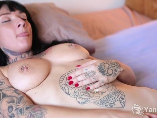 Roxy raye cook two blondes and one fat black dick interracialhardsex blonde babe thr