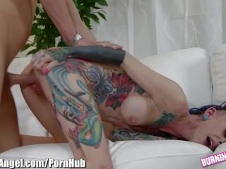 Yellow Porn Tube BurningAngel Seth Gets In Big - Tits Punk Chick