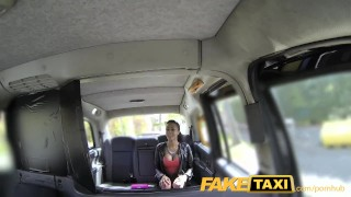 Taxi hot with lucky driver faketaxi gets twice babe super view spycam