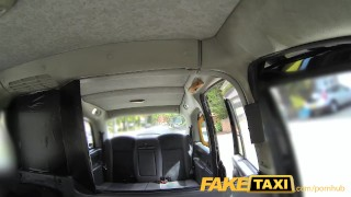 FakeTaxi Taxi driver gets lucky twice with super hot babe Wet rough
