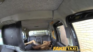 FakeTaxi Taxi driver gets lucky twice with super hot babe Pov shaved