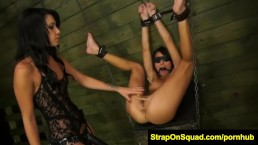 FetishNetwork Marina Endures Hard Lezdom with Esmi Lee