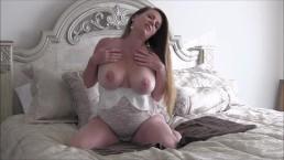 26 Week Solo Pregnant MILF Masturbation And JOI