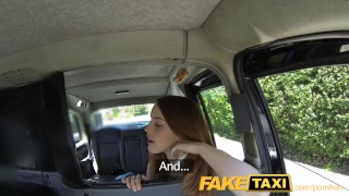Preview 3 of FakeTaxi Redhead gets dirty with future sugar daddy