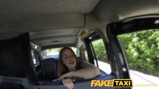 Preview 4 of FakeTaxi Redhead gets dirty with future sugar daddy