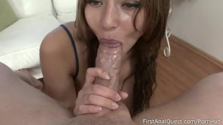 Juicy hottie Mila loves anal.