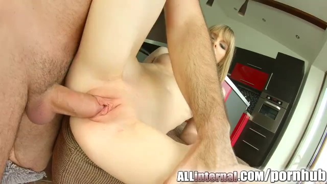 Injected cum All internal shy newcomer gets pussy injected with cum