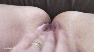 I came twice (My Point Of View)  solo azzurra toy-orgasm milf wet-pussy real-orgasm pussy creamy-pussy double-orgasm very-wet-pussy solo-milf-orgasm real-orgasm-amateur solo-milf solo-orgasm caligula82 creamy-wet-pussy