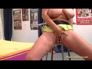 Vaginal Or Anal Impalement Pics And Video Extreme Pirced Stepmom In Realgangbang, Big Tits Anal Gangbang German Step Fantasy