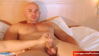 For  gets straight client money cock wanked a by vendors by his huge serviced