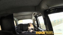 FakeTaxi Hot babe in heels with big natural tits