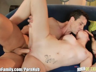 Step-Daddy gets in Daughters Shaved Pussy