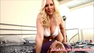 Tits julia demands cum busty milf on her ann milf mom
