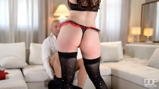 Big Tits Beauty Harmony Reigns has huge Orgasm Cock cowgirl