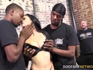 Katrina jade lets her hubby watch her fuck 2 black guys