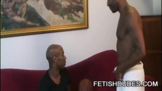 Black cuba worship and black kinky santos on jockstrap kamrun fetish black