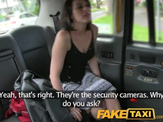 Amateur Girl Selfie FakeTaxi Taxi fan finally gets infamous cock