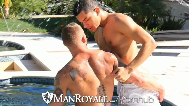 Usa palm springs gay resorts Derek parker pounds ethan slader at a gay resort