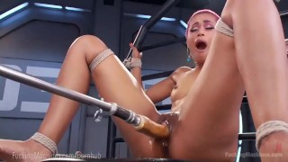 Skin Diamond Squirts On Dildo Machines  strip tease fuck machine masturbation ebony dildo masturbate tattoo fetish nerd toys piercing kink squirting pussy fuckingmachines bondage orgasm tattoos moan