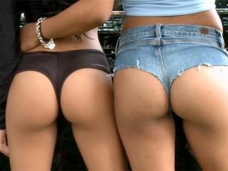 Socalglamourgirls Fucking, Kiosk Of Lust: VeronicA Rodriguez, GuilianA Alexis and Jmac Public Latina