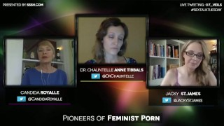 Pioneers of Feminist Porn with Candida Royalle and Jacky St. James Hollywood porn
