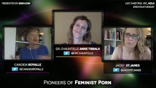 Pioneers of Feminist Porn with Candida Royalle and Jacky St. James Get nevada