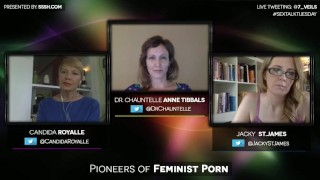 With pioneers of porn jacky and st feminist candida james royalle reality conversation