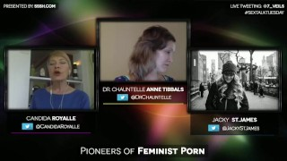 Of pioneers and with candida porn james royalle jacky feminist st educational interview