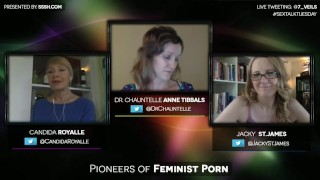 Pioneers of Feminist Porn with Candida Royalle and Jacky St. James porno