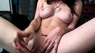 Amber Hahn : Glass toy  toys webcam big boobs adult toys justamber amber hahn amberhahn dirty talk masturbate