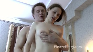 Delta Freya gets intense sex from lover today Tits perky