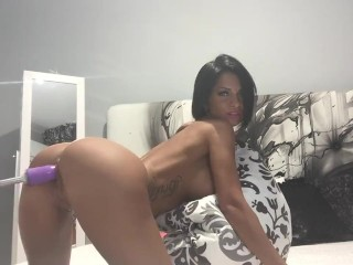 Anisyia livejasmin hardcore pussy destroyed by sexmachine