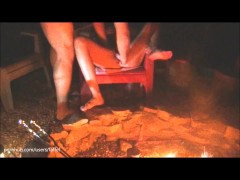 : Campfire exting-gusher!!
