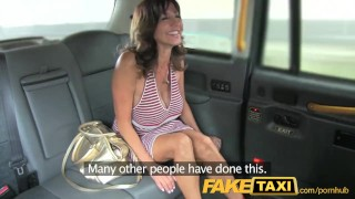 Preview 4 of FakeTaxi Sexy milf with big tits does anal