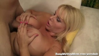 Voluptuous MILF Has Sex With Step-son! Latina shaved