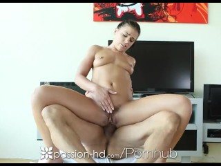 Amateur Throat Passion - HD - Adriana Chechik begs for guys dick in her ass