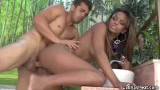 small tits latina