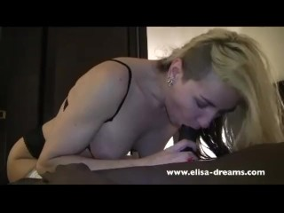 Queen Bbc - Queen of Spades takes new BBC in her Ass